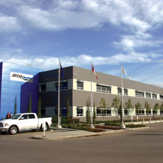 ATCO Electric Regional Facility – Concrete & Earthwork Contractor