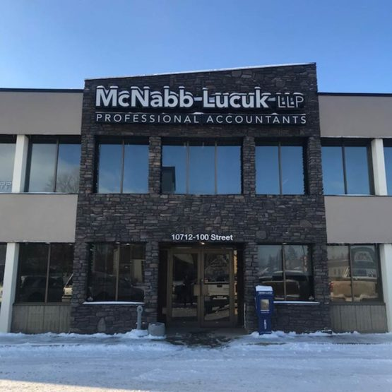 McNabb Lucuk LLP Professional Accountants – General Contractor
