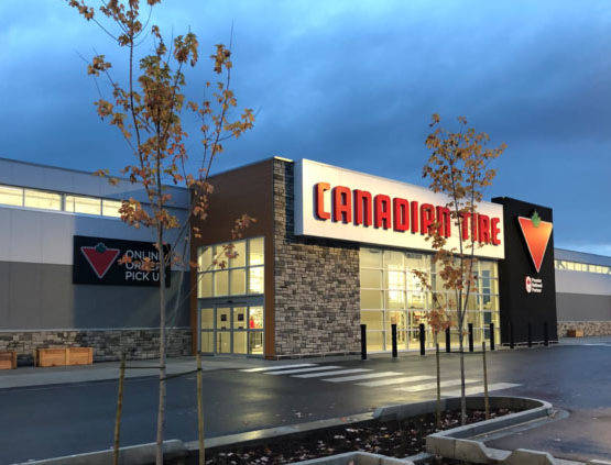 Canadian Tire – Concrete & Earthwork Contractor