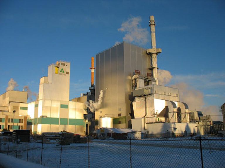 Concrete built on Wayerhaeuser plant phase 2