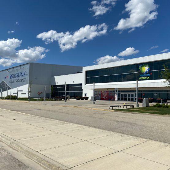 Crosslink County Sportsplex – Concrete Contractor