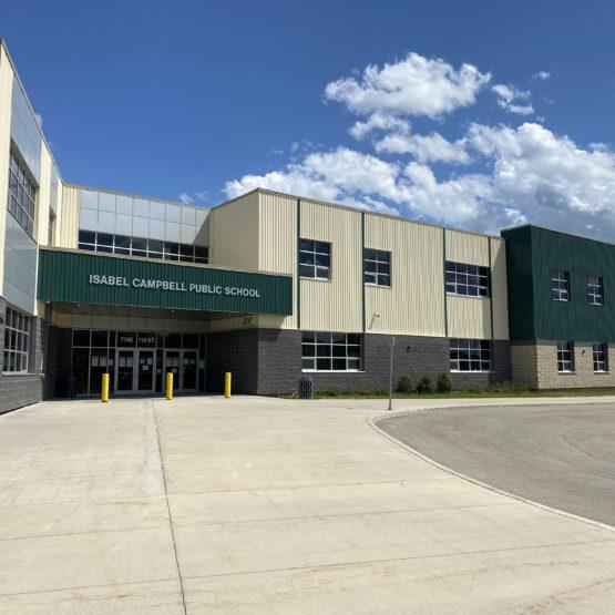 Isabel Campbell School – Concrete & Earthwork Contractor