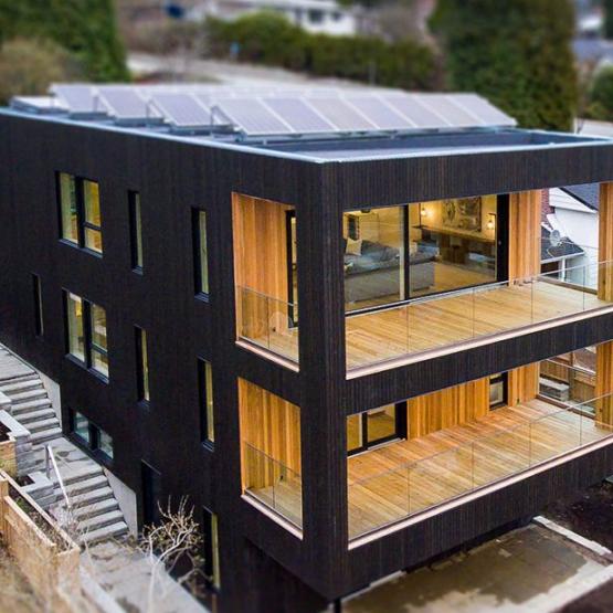 North Vancouver Net Zero House – Concrete Contractor