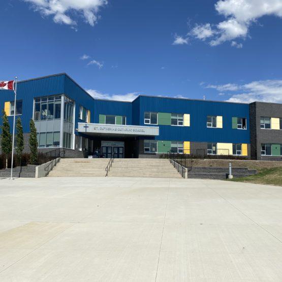 St. Catherine School – Concrete & Earthwork Contractor
