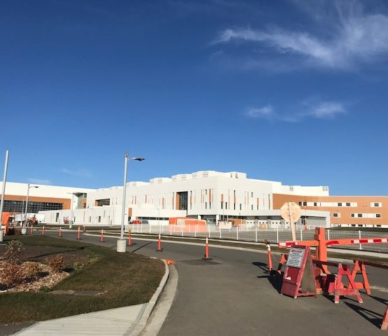 Grande Prairie Regional Hospital – Grounds Maintenance, Snow Removal, Misc. Carpentry (ongoing)